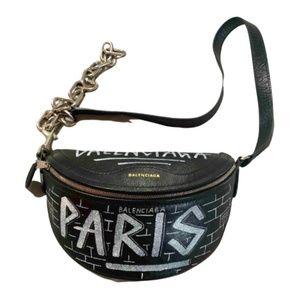 Balenciaga Souvenir graffiti belt bag